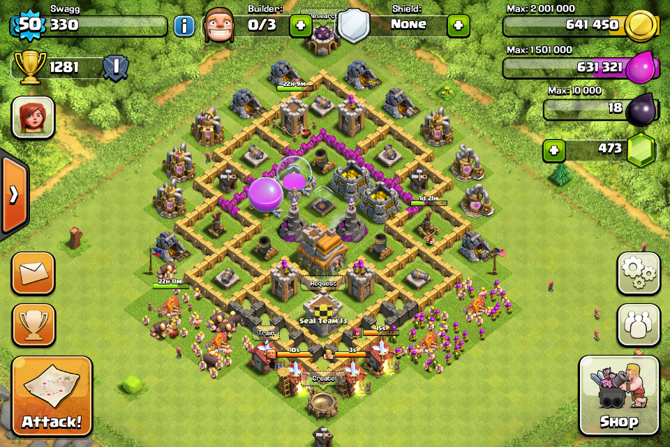 Layouts Clash Of Clans Wiki Fandom Powered By Wikia