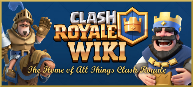Clash Royale image on Wikia page.