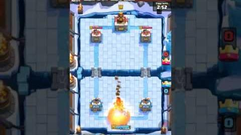 Clash Royale 30 second legendary victory