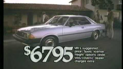 Mazda 626 Commercial from the 80s