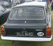 Ford Corsair rear