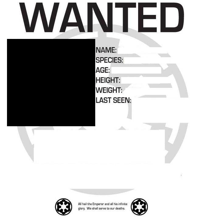 Image Wanted Poster Layoutpng CWA Character Wiki – Wanted Poster Layout