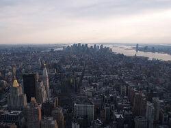 Manhattan Downtown from Midtown