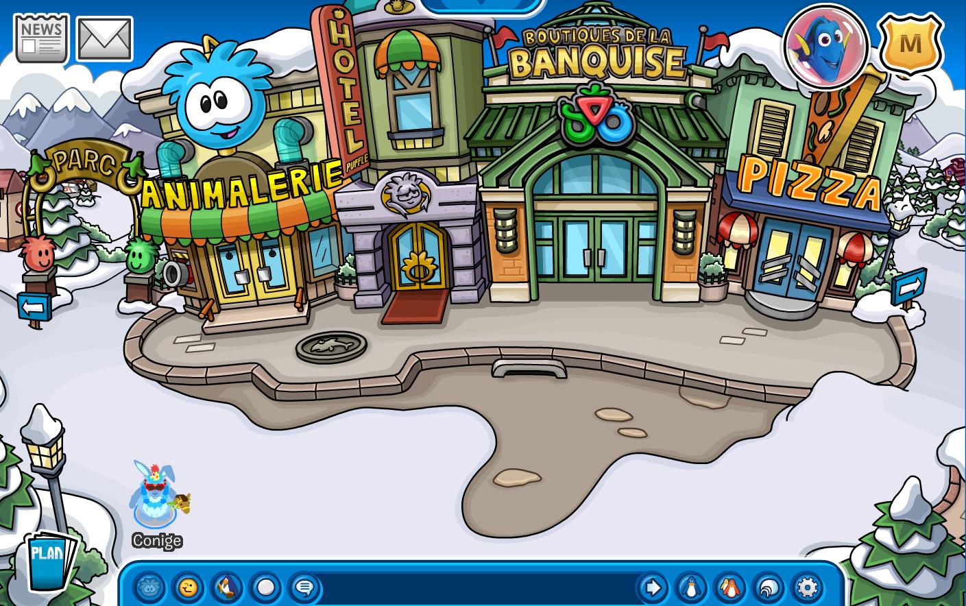 Grand place wiki club penguin fandom powered by wikia - Jeux de club penguin gratuit ...