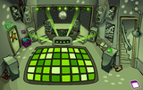 Night Club rave Lime Green