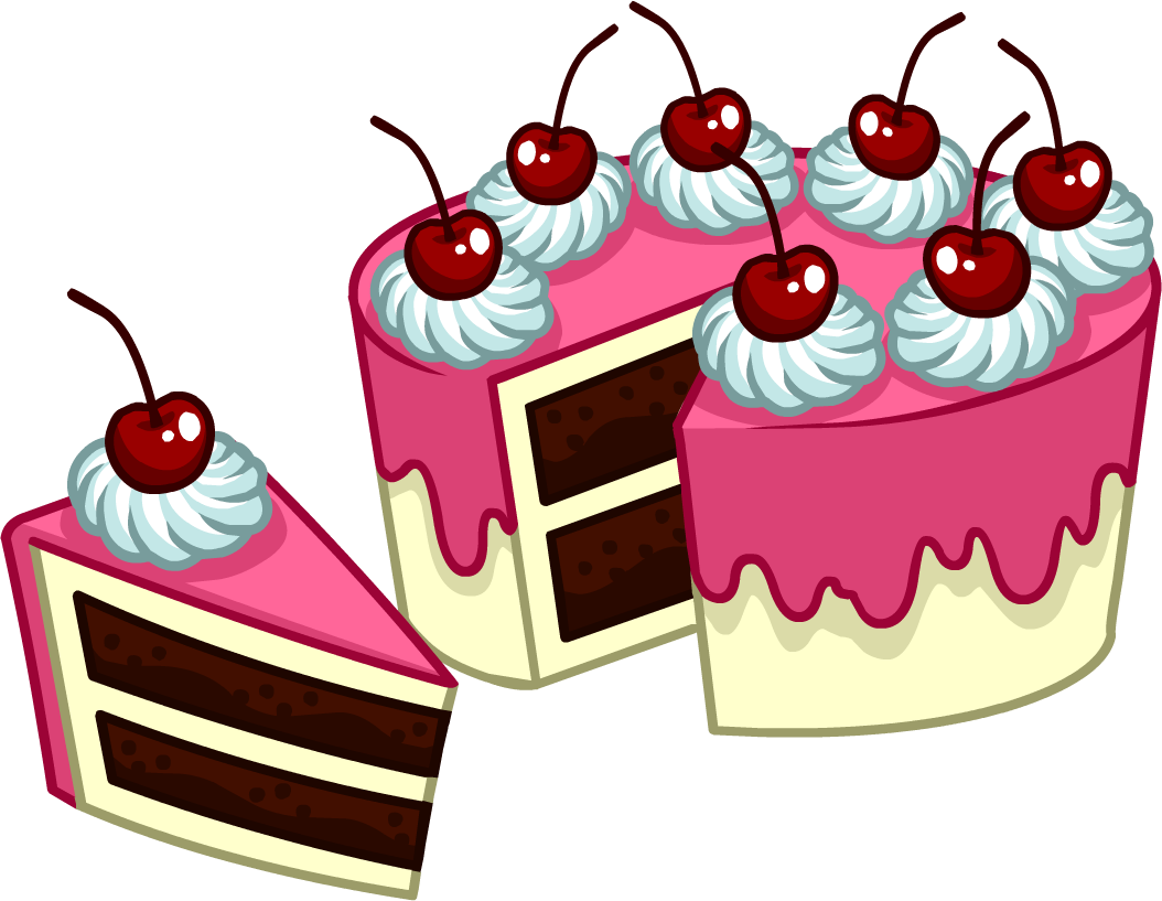 Black Rooms Image Puffle Care Catalog Icons Food 8 Peice Cake Png