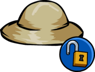 Safari Hat unlockable icon