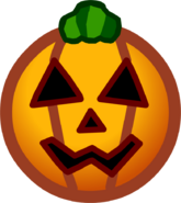 Halloween 2013 Emoticons Pumpkin