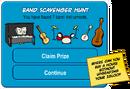Band Scavenger Hunt