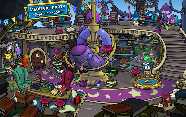 File:10th Anniversary Party Wizard Library.png