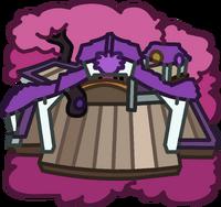 Purple Puffle Tree House icon