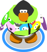 Puffle Scuffle Hoodie in-game