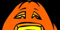 Sad Jack-O-Lantern