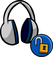 Headphones unlockable icon