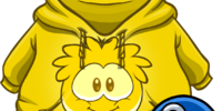 Gold Puffle Hoodie