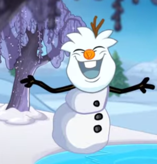 File:Snowman Puffle in 'In Summer'.png