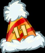 11th Anniversary Hat icon