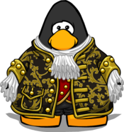 Commander Coat on Player Card