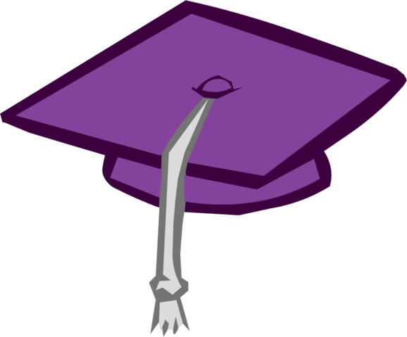 File:Purple Graduation Cap.png