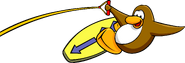 Game Upgrades wakeboard penguin