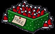 Santa Hat box