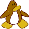 Doodle Dimension penguin Brown