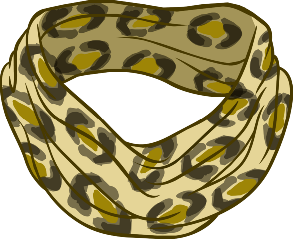 File:Leopard Print Scarf icon.png