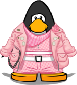 Lela's Biker Outfit from a Player Card