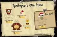 Rockhopper's Rare Items December 2013