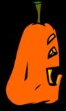 Goofy Jack-O-Lantern sprite 006