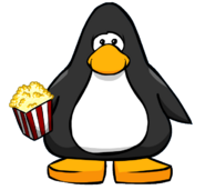Popcorn (item) from a Player Card