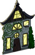 Creepy Cottage Cut-Out sprite 002