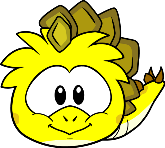 File:YellowDinosaurPuffleSprites.png