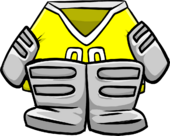 Yellow Goalie Gear icon