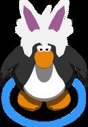 Rabbit Puffle Cap in-game