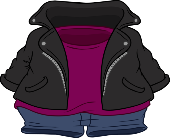 File:Black Leather Jacket icon.png