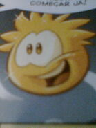 Lucky in the Club Penguin Magazine