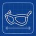 Blueprint Thick-Frame Glasses icon