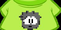 Black Pixel Puffle Tee