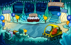 Winter Party Yeti Cave