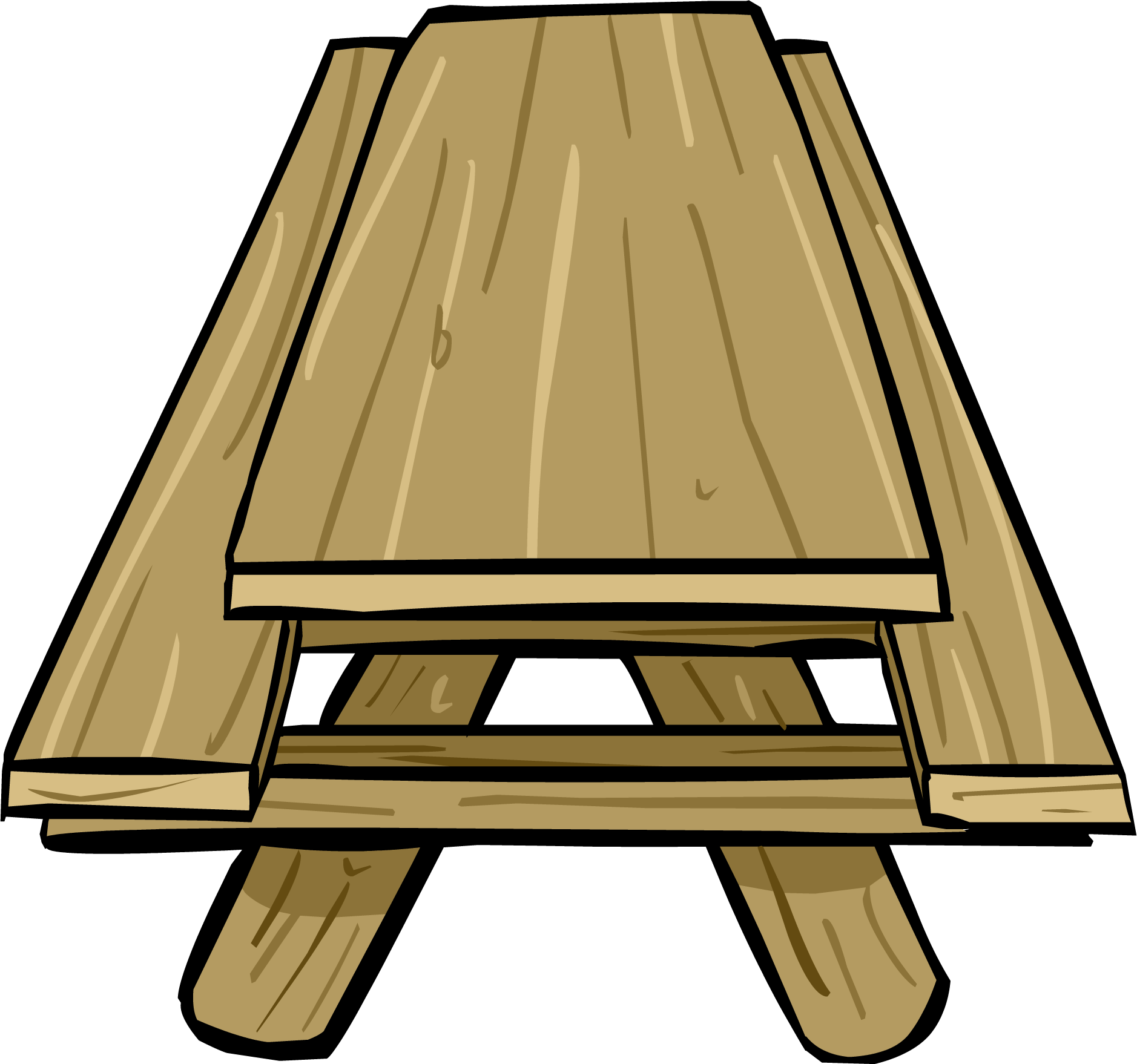 image picnic table png club penguin wiki fandom powered by wikia. Black Bedroom Furniture Sets. Home Design Ideas