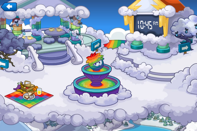 File:Rainbow Puffle Party Snow Forts.png