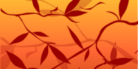 Scarlet Leaves Background