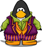The Count's Costume on a Player Card