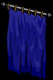 Blue Curtain sprite 007
