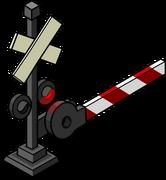 Railroad Crossing Sign sprite 004