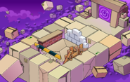 April Fools' Party 2011 Box Dimension construction