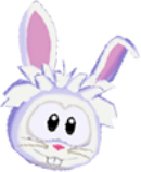 Wht rabbit 3d icon
