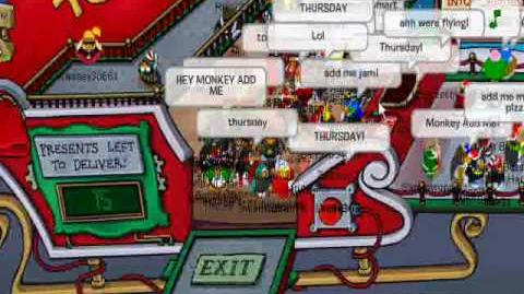 Club Penguin - Meeting Aunt Arctic (December '09)