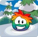 Puffle Party 2013 Transformation Puffle Rainbow